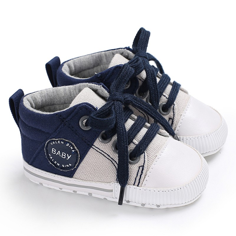 WEIXINBUY Baby Shoes Sneakers Girls Boys Canvas Casual Toddler Shoes Anti-Slip Breathable First Walkers