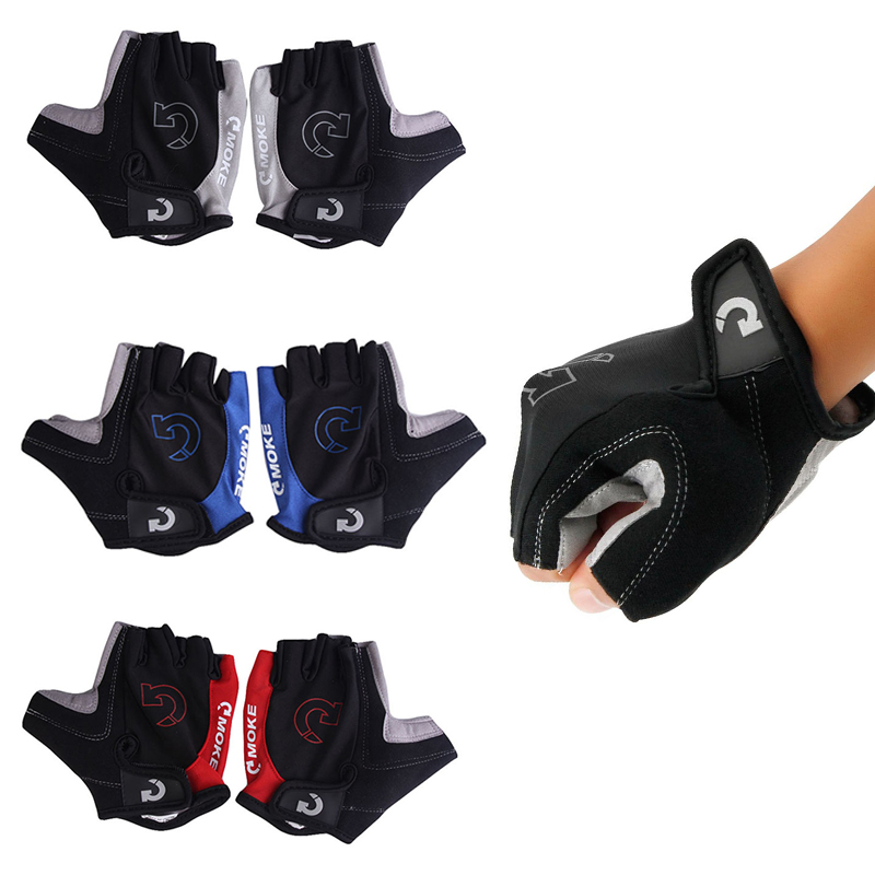 Half Finger Non-slip Gel Cycling Gloves Bike Gloves Breathable Motorcycle Mountain Road Bicycle Gloves Men Sports Skiing Gloves