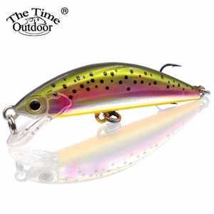 TheTime Fishing Bait Jerkbait Sinking Minnow Fishing Lure Hard Lure Artificial Plastic Wobble Lure Sweet Pesca Trout 55mm/4.5g