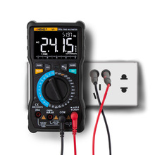 все цены на LCD Display V8 True RMS Digital Multimeter Auto Range 8000 Counts Display V.F.C Inverter Measurement Analog Bar Graph Wire Power онлайн