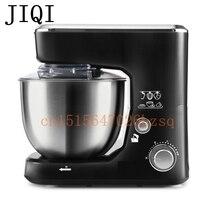 JIQI Mezcladores de Alimentos de alta calidad eléctrica batidoras de Pie multifuncional amasamiento máquina batidora de huevos