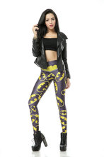 Plus size S-4XLHot Wholesale Fashion Slim Womens Pirate Costume Leggins Pants Digital Printing Hero Logo Woman Leggings