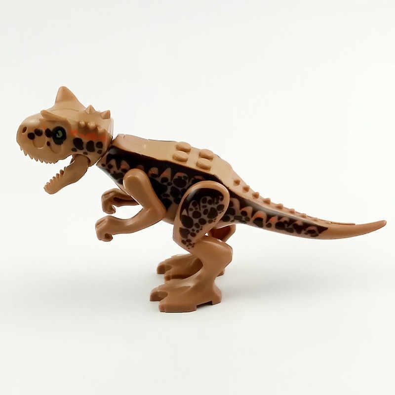 Blocos de Construção de Mundo jurássico Dinossauro 2 Legoings Indominus I-rex Dinossauro do Jurássico Tiranossauro Rex Figuras Bricks Brinquedos Modelo
