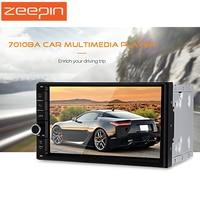 ZEEPIN Universal 7 GPS 2 Din Car Multimedia Players HD Touch Screen FM Auto Radio Bluetooth