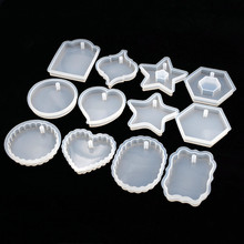 SNASAN 12PCS tag silicone mold Resin Silicone Mould pendant handmade DIY for Jewelry Making tool epoxy resin molds craft materia snasan silicone mold for jewelry bracelet mold resin silicone mould handmade tool diy craft epoxy resin molds