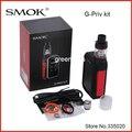 Original smok g-priv 220 w pantalla táctil kit con gpriv 220 caja mod vape partido 5 ml tfv8 bebé grande atomizador