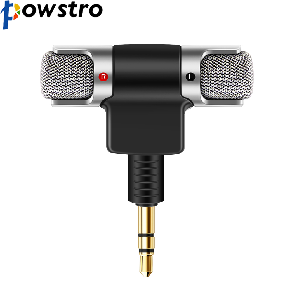 Lapel Microphone With Gold 3.5mm Jack Plug Audio For Video Video Production & Editing