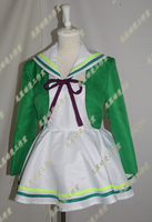 Anime Wake Up Girls!/Okamoto not eve Katayama Minami cosplay SJ lolita punk girls school uniform dress set