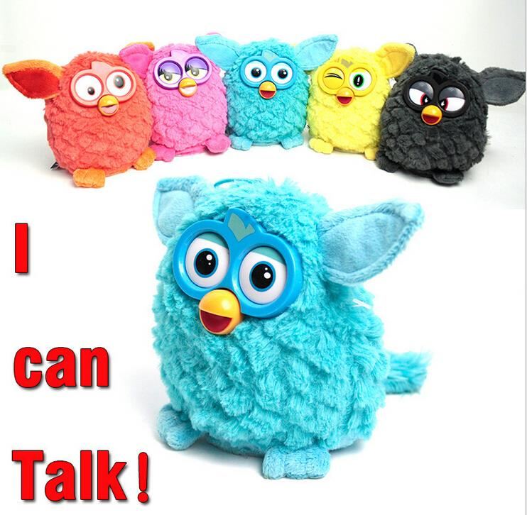 New Electronic Toys phoebe 7 Color Electric Pets Owl Elves Plush toys Recording Talking Toys Christmas Gifts with Furbiness boom детское электронное домашнее животное phoebe 2015 firbi ferbi furbiness ferbi boom