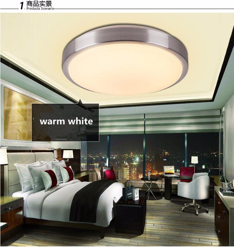 Image 4 - Ceiling lights LED lamp Diameter 21/26cm Acryli panel Aluminum frame edge indoor lighting Bedroom living kitchen LED light 12W-in Ceiling Lights from Lights & Lighting
