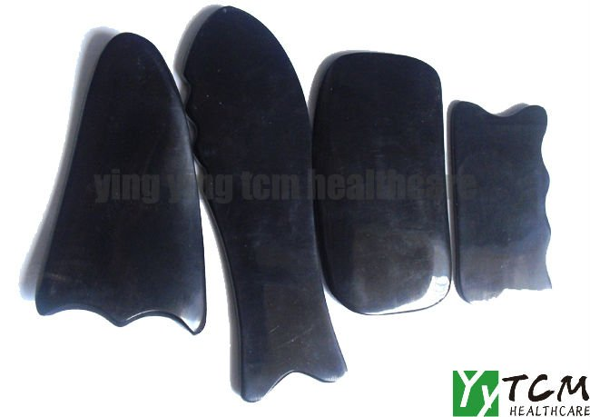 где купить Hot! ! very good quality!Wholesale Traditional Massage Tool Guasha board/100% Buffalo Horn/scrape therapy joint finger body face дешево