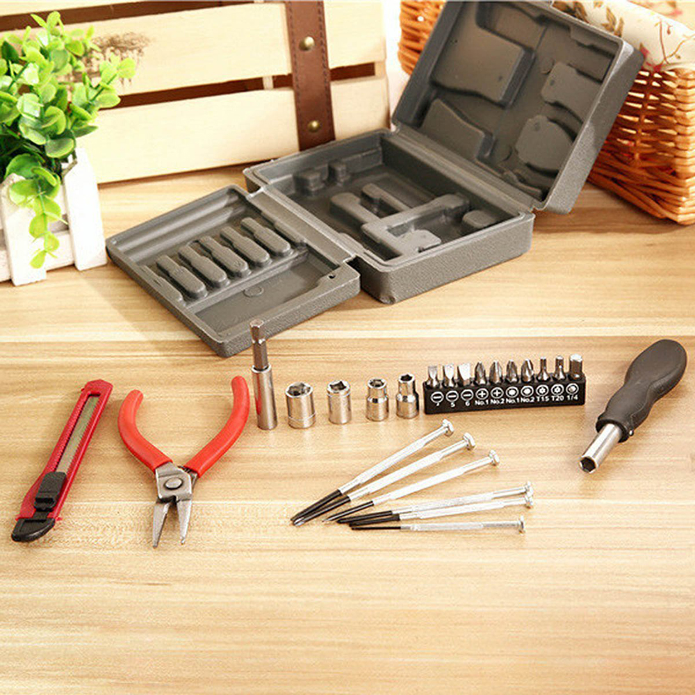 Household 24pc Multifunction Tool Set
