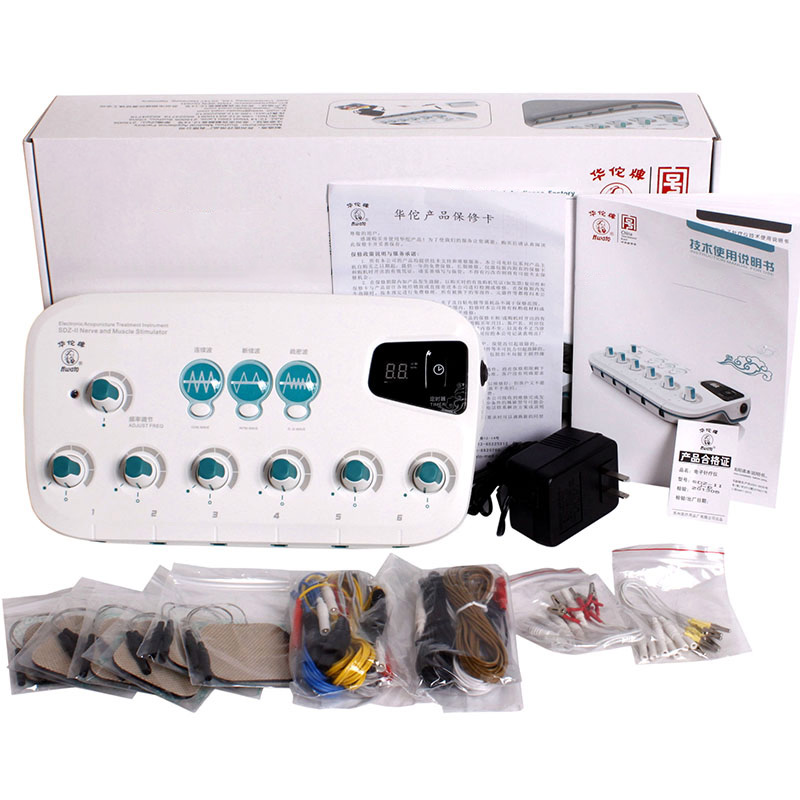 Hwato SDZ II 6 Channels Outputs SDZ II Massager machine 110 220V