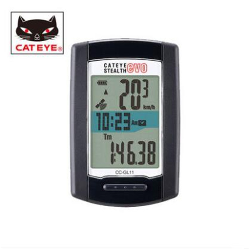 CATEYE cc-gl11 велосипедов компьютер GPS высота стола Подсветка велосипед секундомер велосипед скорость компьютера