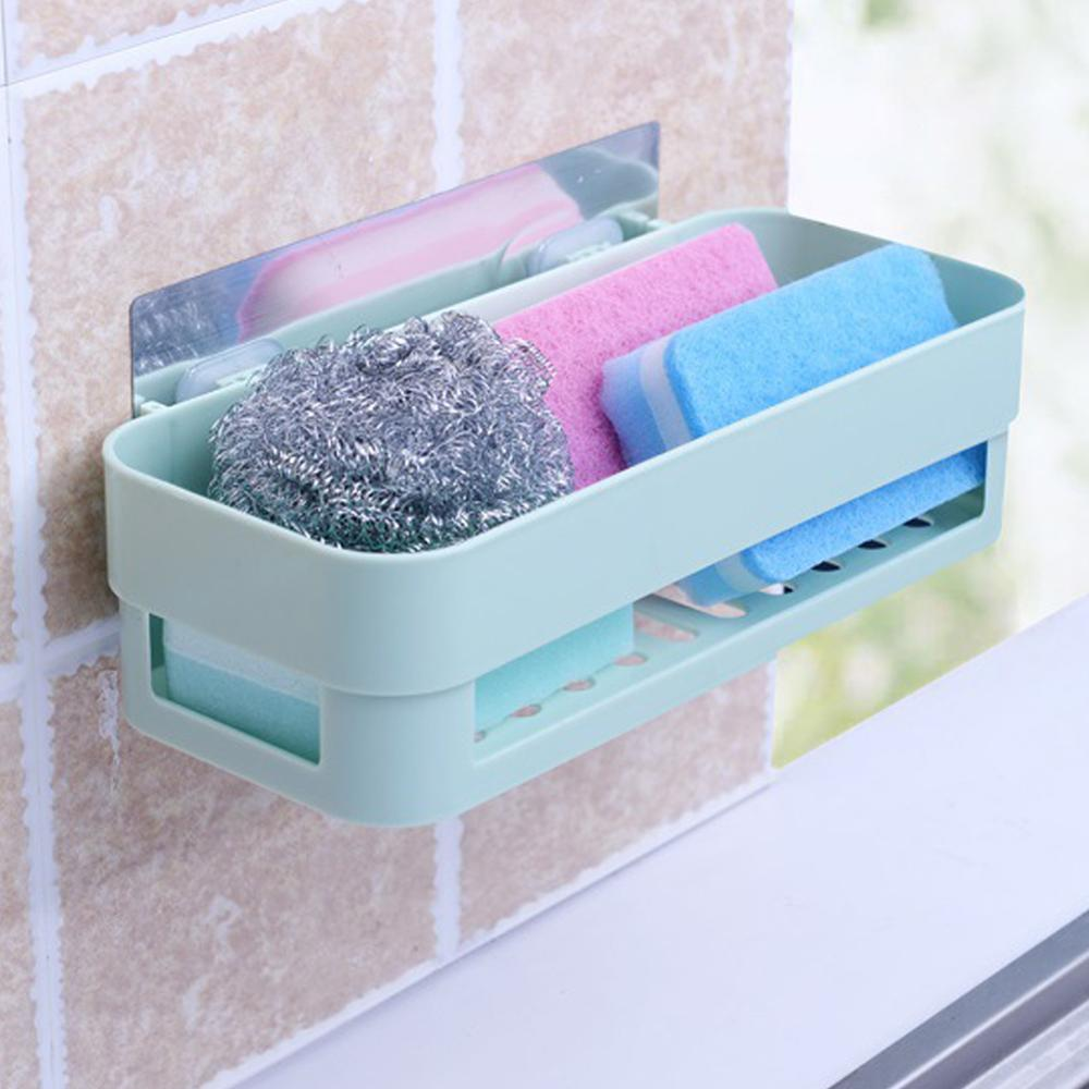 Removable  Shower Caddy Wall Shelf Storage Basket Holder Storage For Shampoo & Toiletries, Kitchen Bathroom Bedroom Organizer