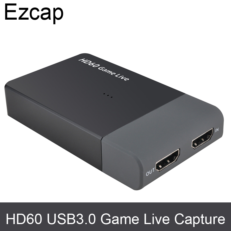 USB3.0 60FPS HDMI VIDEO CAPTURE Dongle usb 3.0 Game Streaming Live Stream Broadcast to Facebook Youtube,with Microphone input