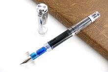 وينسونغ 698 قلم حبر الجناح سونغ 698 قلم حبر المكبس الشفاف قلم حبر المظاهر