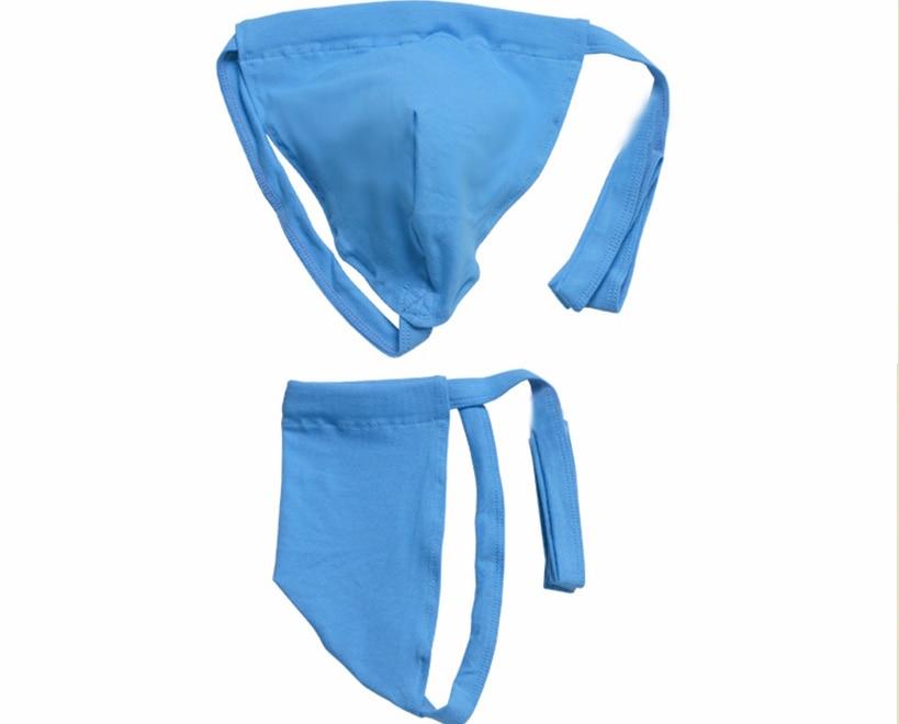 Sexy Men's Thong Underwear Men's  Fat Loincloth Jockstrap Gay Men