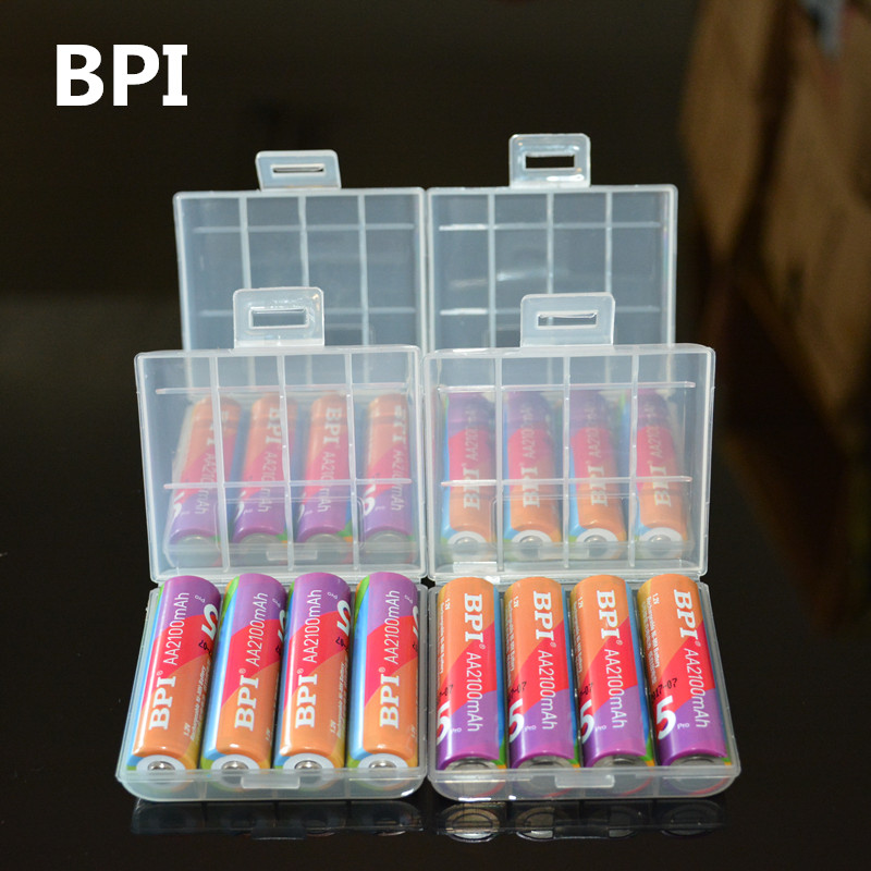 Originale BPI 1.2 V AA Batterie 2100 mah 2A Bateria Baterias Batteria Ricaricabile Ni-Mh Batteria Ricaricabile Per La Torcia Elettrica