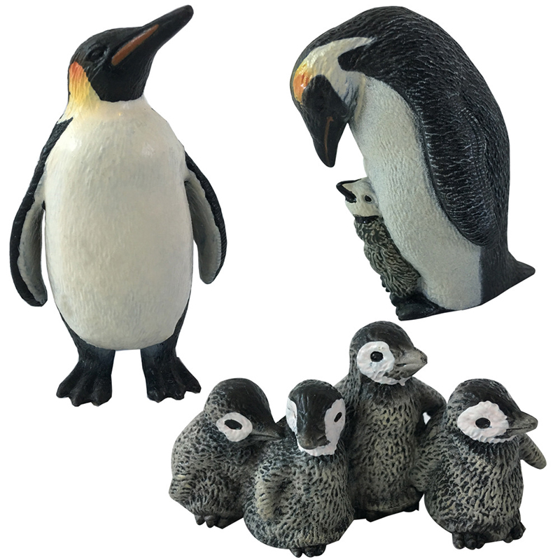 3 styles Action & Toy Figures Penguin Marine Animal Toys PVC Sea Life Penguin's Baby Dolls Children For sale Kid Gift F2 48pcs lot action figures toy stikeez sucker kids silicon toys minifigures capsule children gift