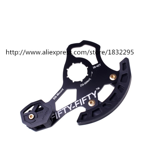 Mountain Bike Double Chain guide / tensioner is able to use for 32T /38-42T Crankset with front derailleur,  BB Mount type.  монтажно тяговый механизм able wrp 32 20