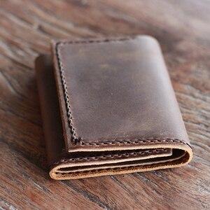DIY Кожа ремесло мужчины три Папка Держатель для карт бумажник высечки нож формы ручной инструмент-шаблон