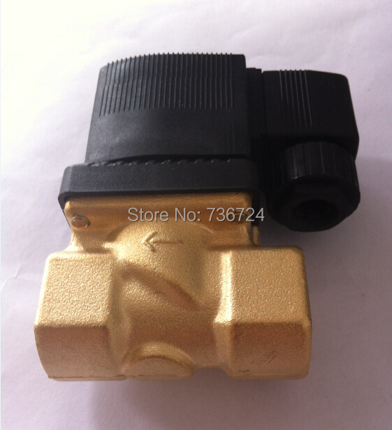 diaphragm solenoid valve  Brass Water Air Oil solenoid valve 3/4 BSPP Threaded