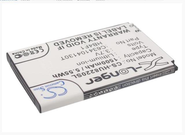 Cameron Sino 1500 mah batterie pour HUAWEI A100 A103 A105 A109 A113 A115 A201 A520 Monter G306T C8600 CHT8000 ideos U8800H ideos X5