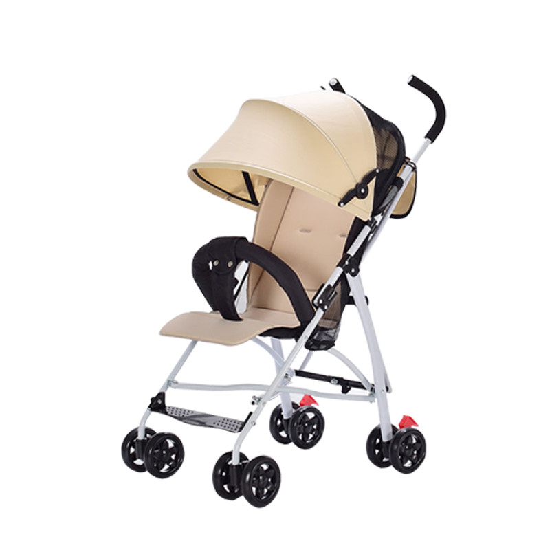 Baby Stroller Lightweight Portable Baby Carriage For A Child For Travel Lightweight Pram ...