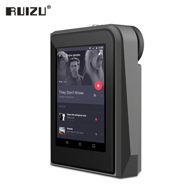 2017 Original RUIZU A50 HD sans perte Mini Sport lecteur MP3 avec 2.5 pouces écran Hifi lecteur de musique MP3 soutien 128G TF carte/DSD25