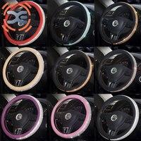 Rhinestone Steering Cover 10 Colors Diameter 38cm Steering Wheel Cover All Season Steering Wheel Cover For Women