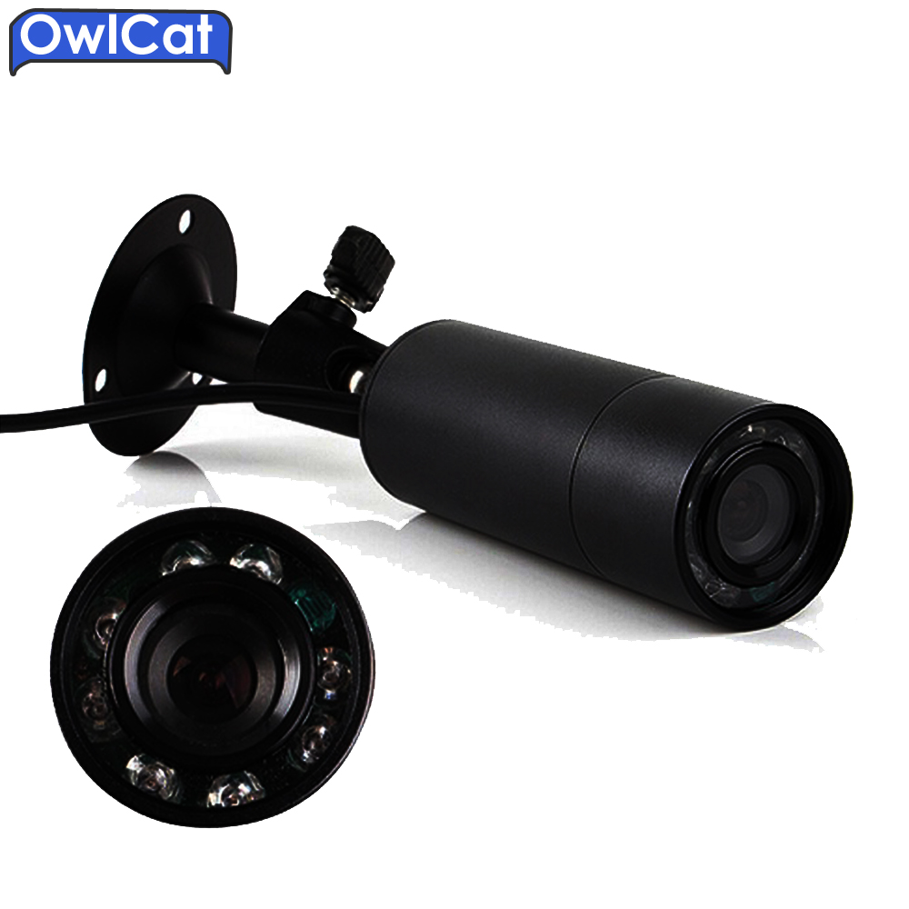 OwlCat Bullet Outdoor Waterproof IP66 AHD Camera 3.6mmlen 1080P Full HD 2MP Security CCTV Camera Video Surveillance Cam External owlcat wifi ip camera bullet outdoor waterproof onvif wireless network kamara 2mp full hd 1080p 720p security cctv camera