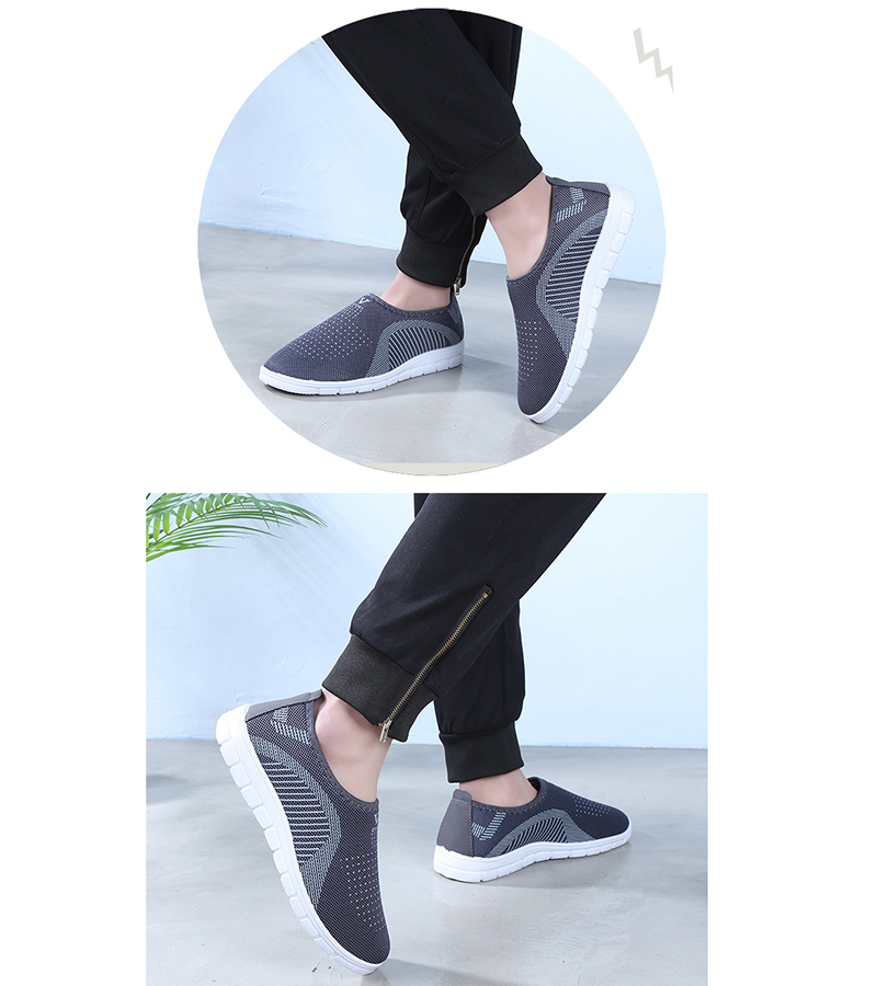 Mesh women sneakers Breathable Slip On casual shoes women fashion comfortable Summer Flat Vulcanize Shoes Zapatos Mujer VT248 (10)