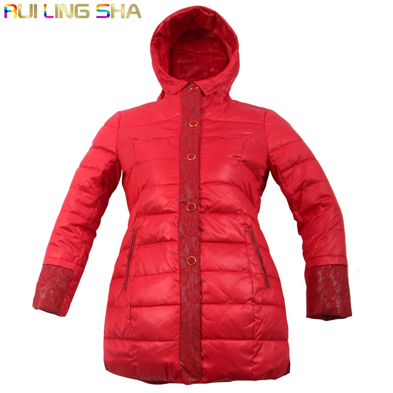 Women\'s Long Regular Parkas Coats Jackets RBS-C LYQ111 0