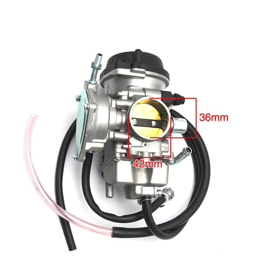 US $52 0 35% OFF|Sclmotos Motorcycle PD36J 36mm Carburetor for Kawasaki  KLF400 KSF400 KVF400 For Suzuki LTZ400 Carburador Carb Quad ATV Racing-in