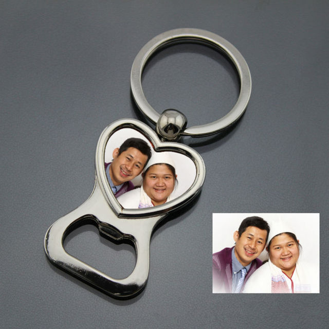 Personalized Wedding Gift For Guest Custom Heart Shaped Photo