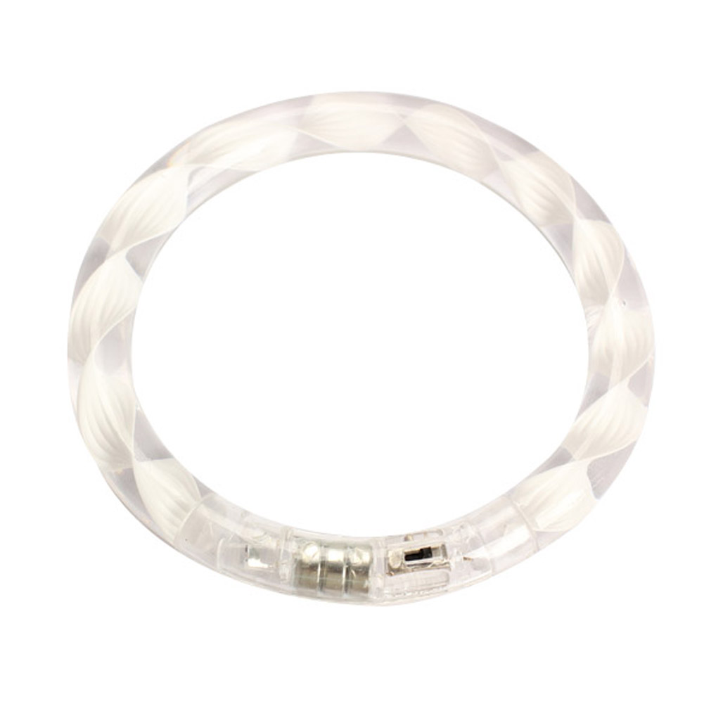 Transparent Texture LED Flashing Color Changing Bracelet Glow Bracelet Shop High Quality
