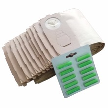 Cleanfairy sacs daspirateur 20 pièces compatible avec VK118, 119, 120, 121, 122