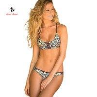 2017 Ariel Sarah Brand Sexy Bikini Set Summer Swimwear Women Swimsuit Bathing Suit Brazilian Bikinis Biquini