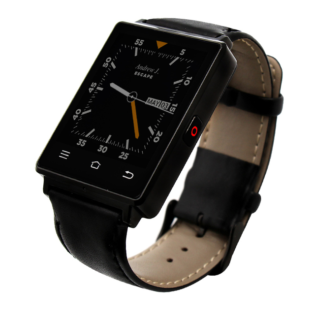 № 1 D6 3 Г Smart Watch Phone 1 ГБ + 8 ГБ MTK6580 Quad Core Smartwatch GPS Часы Монитор Сердечного ритма Reloj Android 5.1 Износа Smartwatch