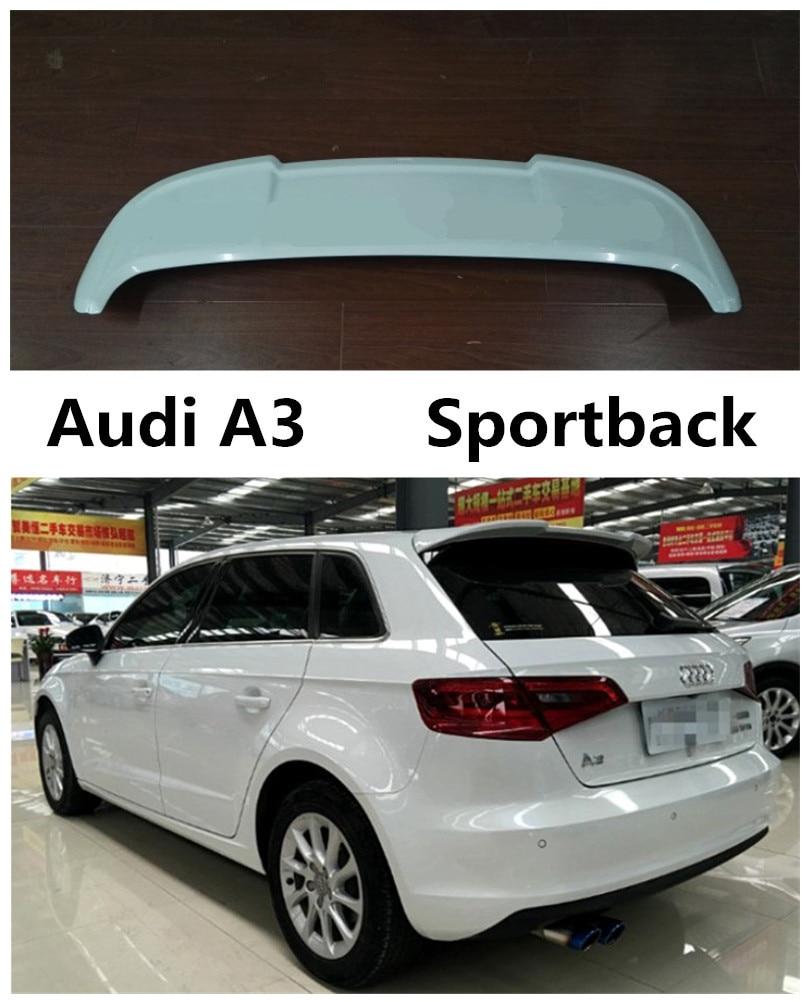Здесь продается  Auto Spoiler For Audi A3 Sportback 2014.2015.2016.2017 High Quality Brand New ABS Wing Spoilers Car Accessories  Автомобили и Мотоциклы
