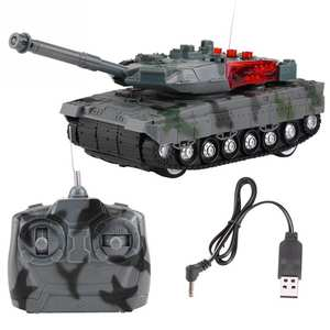 Rc-Tank Model-Toys Remote-Control Electric for Boys Children Christmas-Gift 4-Channels