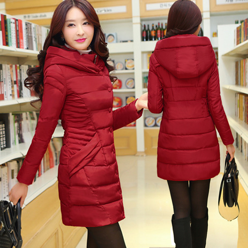 2017 Winter coat cotton jacket winter down jacket women 18 to 20-24-25-28-29-30-35 to 40 years old 2017 winter coat grandma installed in the elderly women 60 70 80 years old down jacket old lady tang suit