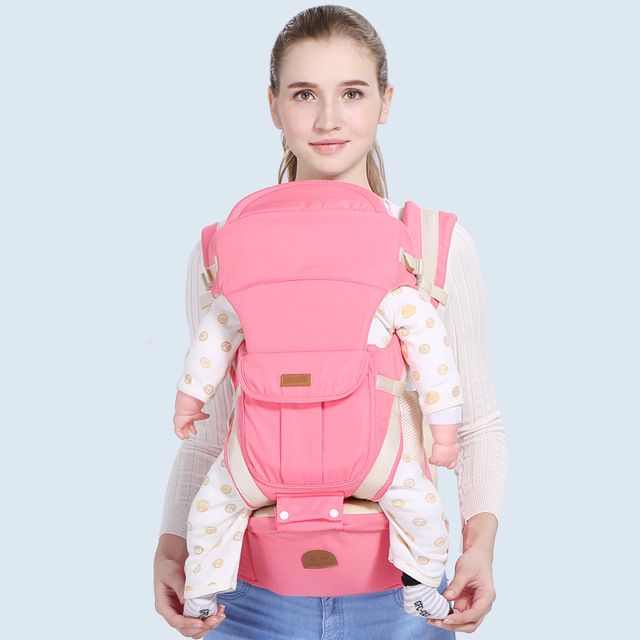 Breathable hipseat newborn and prevent o-type legs 6 in 1 carry style Ergonomic baby carriers kid sling mummy bag baby stroller