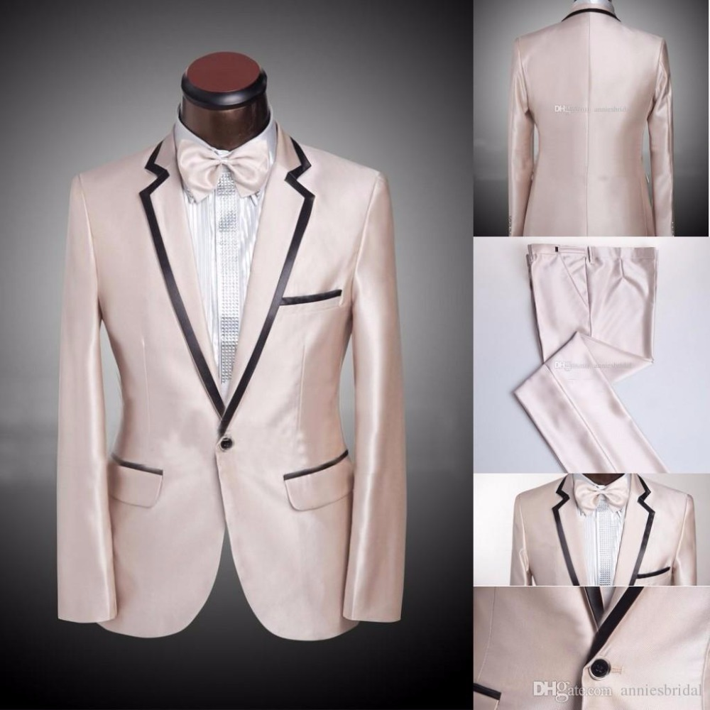 Fit Costumes Colors veste Slim D affaires Pantalon Picture As Cravate  Blazers available Costume Classique Mâle De Hommes ... c67edd3b3d2
