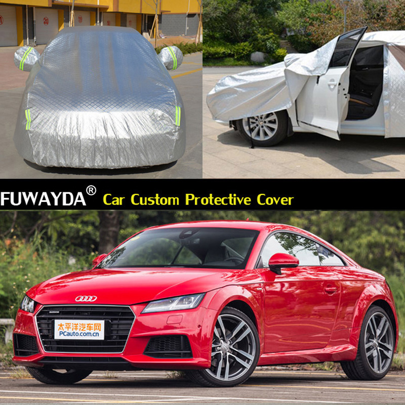 free shipping!!! Car Covers Anti UV Snow Rain Scratch Resistant Automatic Car Covers For Audi TT covers