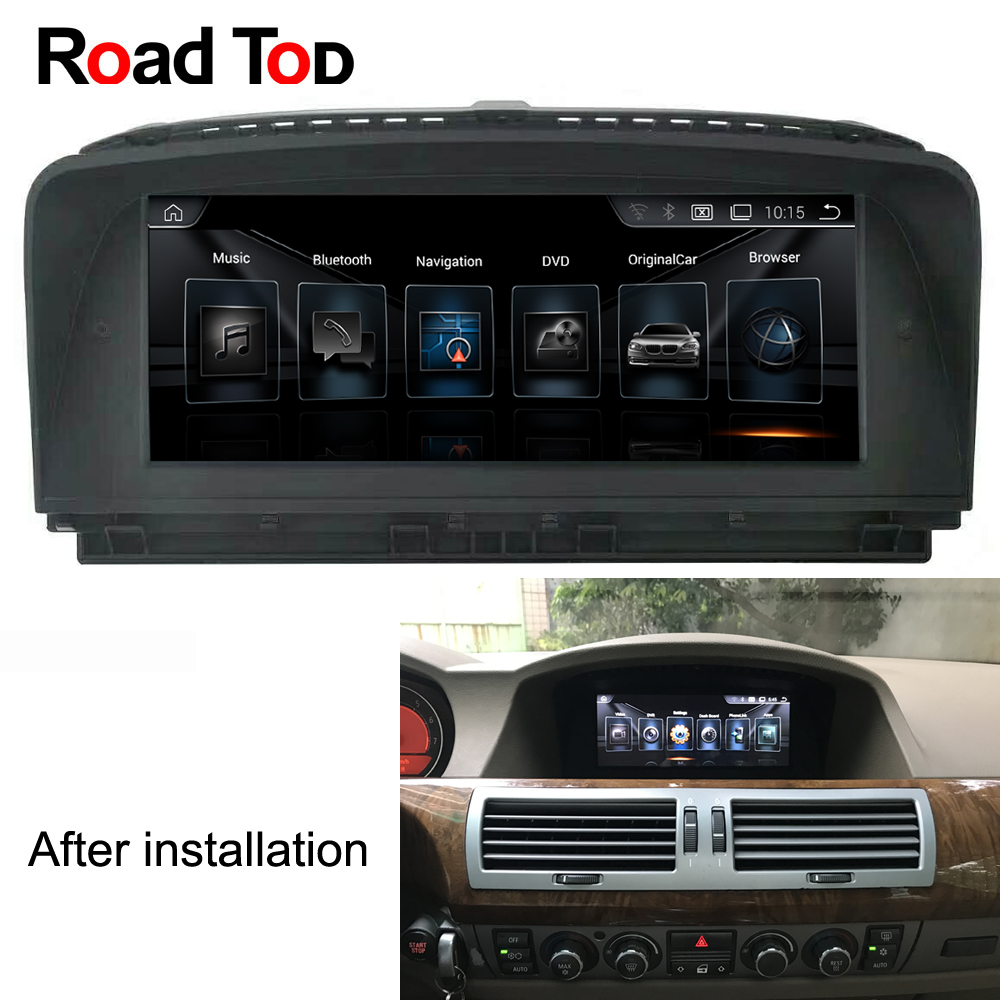 8 8 Android Car font b Radio b font GPS Navigation Head Unit Screen Monitor for