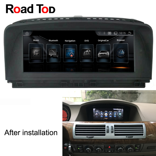 Android Car Radio WiFi GPS Navigation Head Unit Screen