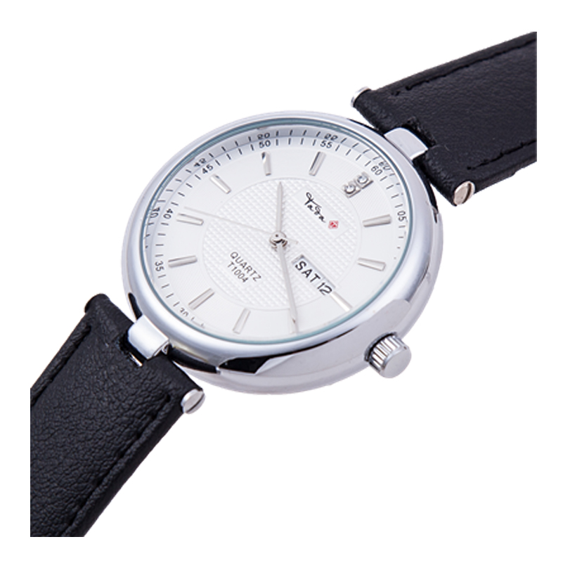 TADA Luxury Brand Date Displaying Women's Outer Door Clock Relojs Japan Movement Geniune Leather Strap Wristwatches Lady tada brand luxury high quality 3atm waterproof japan quartz movement watches relojs lady fashion genuine leather watches