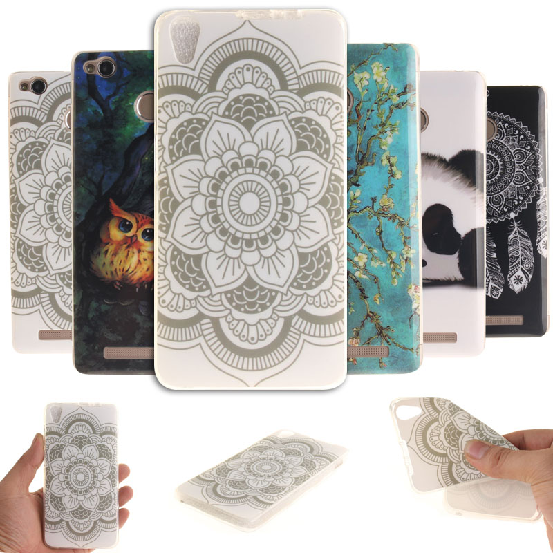 Soft TPU Case For Lenovo P1 P1M S850 P70 S90T Coloured Pattern Silicone cell Phone Cover ...